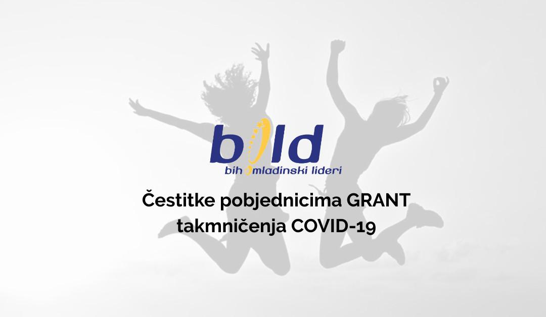 Čestitke pobjednicima za dodjelu malih grantova COVID-19
