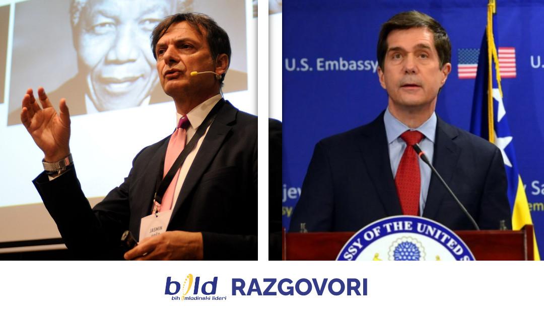 Budite dio BOLD razgovora | Jasmin Hošo i ambasador Eric Nelson