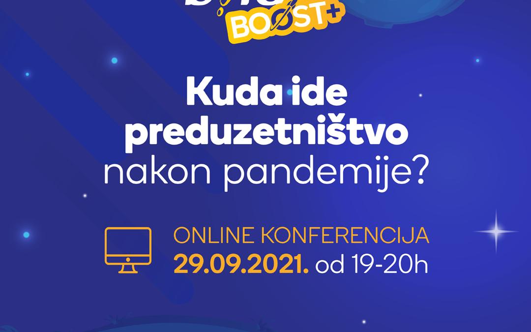 Online konferencija BOLD BOOST+ programa